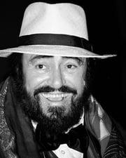 Operatic Tenor Luciano Pavarotti