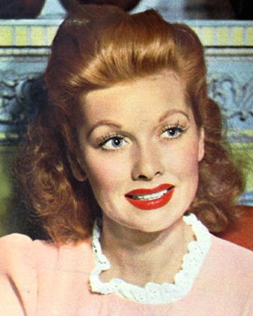 Actress and Comedian Lucille Ball
