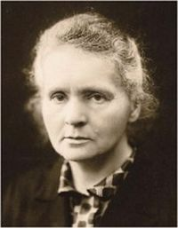 Physicist Marie Curie