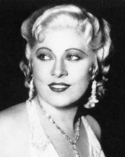 Actress Mae West