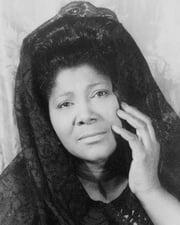 Gospel Singer Mahalia Jackson