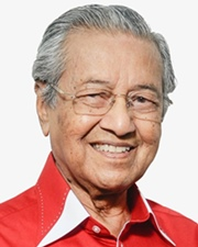 Malaysian Prime Minister Mahathir bin Mohamad