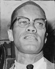 African American Activist Malcolm X