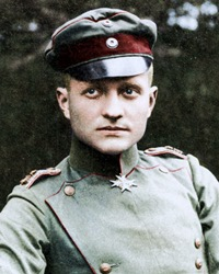 World War I Fighter Ace The Red Baron