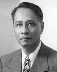 5th President of the Philippines Manuel Roxas