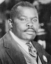 Black Nationalist Marcus Garvey
