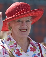 Queen of Denmark Margrethe II