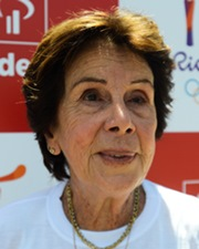 Tennis Champion Maria Bueno