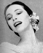 Ballerina Maria Tallchief