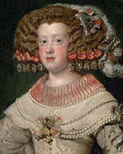 Queen of Louis XIV Maria Theresa of Spain