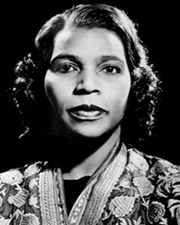 Singer Marian Anderson