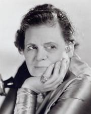 Actress Marie Dressler