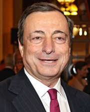 Economist and Prime Minister of Italy Mario Draghi