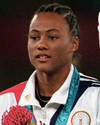 Track and Field Athlete/Drug Cheat Marion Jones