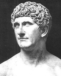 Roman Politician and General Mark Antony