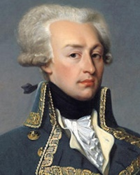 French General and Aristocrat Marquis de Lafayette