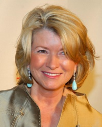 Business Magnate and TV Personality Martha Stewart