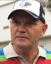 Cricketer Martin Crowe