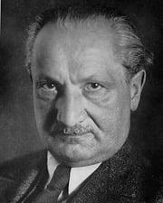 Philosopher Martin Heidegger