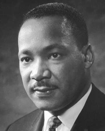 Civil Rights Activist Martin Luther King Jr.