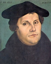 Founder of Protestanism Martin Luther