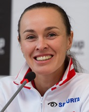 Tennis Star Martina Hingis