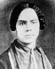 Suffragist and publisher Mary Ann Shadd Cary
