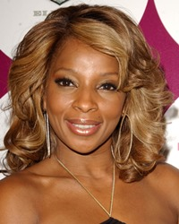 Singer-songwriter Mary J. Blige