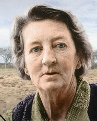 Paleoanthropologist Mary Leakey