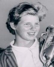 LPGA Golfer Mary Mills
