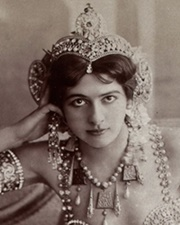 Exotic dancer, courtesan and convicted German spy Mata Hari