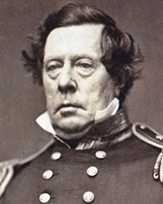 Commodore of the US Navy Matthew C. Perry