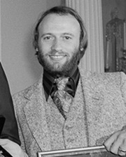 Guitarist of the Bee Gees Maurice Gibb