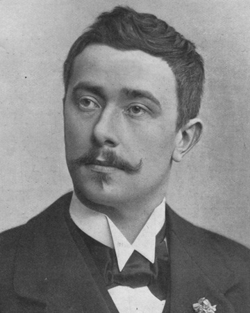 Author and Nobel Laureate Maurice Maeterlinck