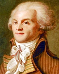 Revolutionary Maximilien Robespierre
