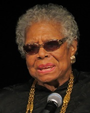 Author, Poet and Actress Maya Angelou