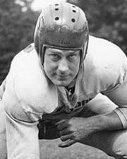 NFL Offensive Lineman Mel Hein