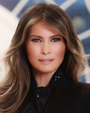 US First Lady and Model Melania Trump