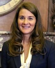 Philanthropist Melinda Gates