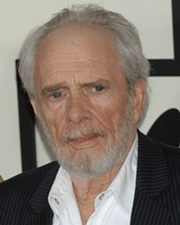 Country Music Singer and Songwriter Merle Haggard