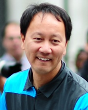 Tennis Player and French Open Champion Michael Chang