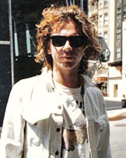 Rocker Michael Hutchence
