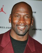 Basketball Superstar Michael Jordan