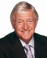 TV Host Michael Parkinson