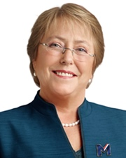 President of Chile Michelle Bachelet