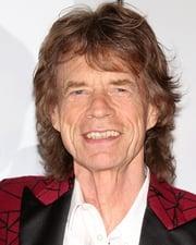 Rock Star Mick Jagger