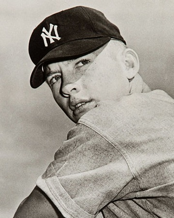 Baseball Legend Mickey Mantle