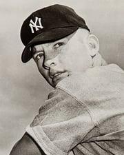 Baseball Legend Mickey Mantle