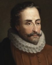 Author Miguel de Cervantes