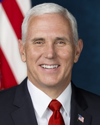 48th Vice President of the United States Mike Pence